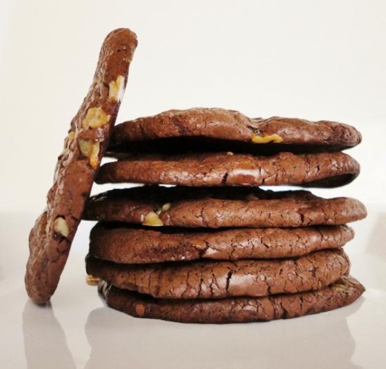 12 - flourless chocolate cookies