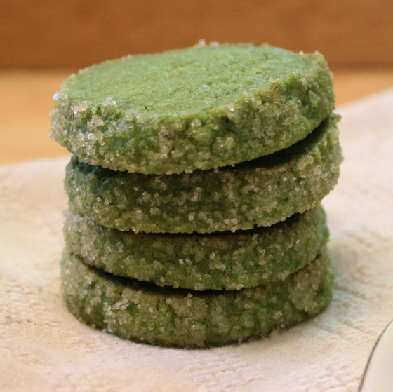 19 - matcha tea cookies